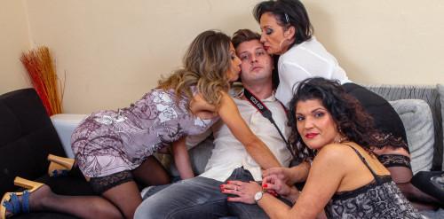 Jane Sweet (38), Lady Masha (48), Veronique (43) - Groupsex