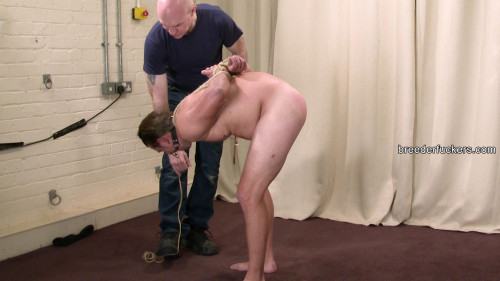Gay BDSM Tied from BreederFuckers