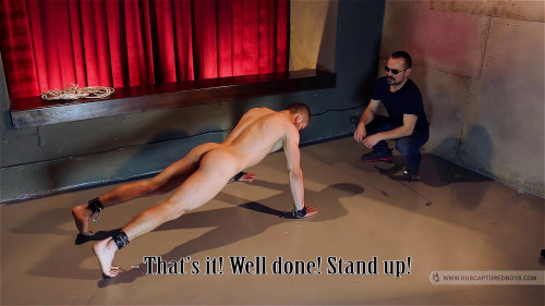 Gay BDSM RusCapturedBoys - Football Hooligan in Slavery - Part I