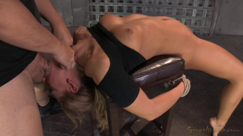 BDSM SexuallyBroken Blonde girl next door Carter Cruise