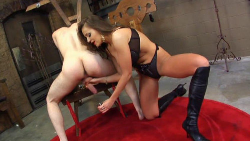 Femdom and Strapon Bitches Who Hubby 2