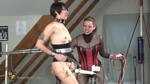 BDSM House of Gord - made Workout Orgasm Training