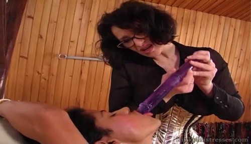 Fisting and Dildo  Vacuumed pussy