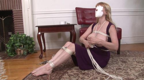 BDSM Total Self-Bondage for Lorelei