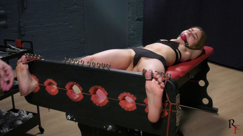 BDSM HD Bdsm Sex Videos Intense long tickling in Y pose