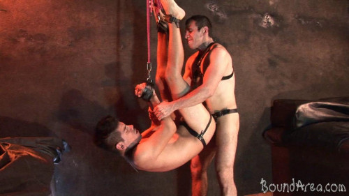 Gay BDSM Twink Slave Ravaged Raw In All Sorts of Suspension