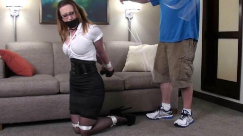 BDSM Serene Secretary Bound