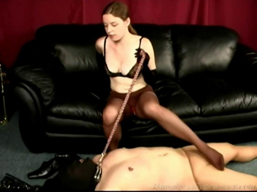Femdom and Strapon Subjugated By Sarah - LE