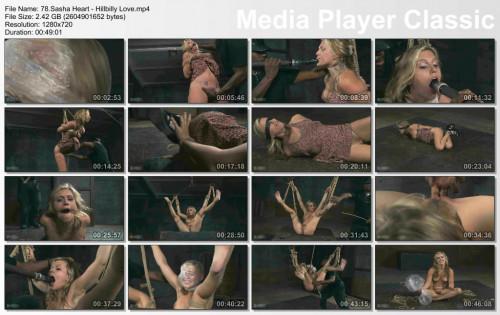 bdsm Hillbilly Love , Sasha Heart , HD 720p