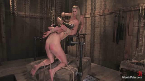 Femdom and Strapon Bitch-boy Hunting