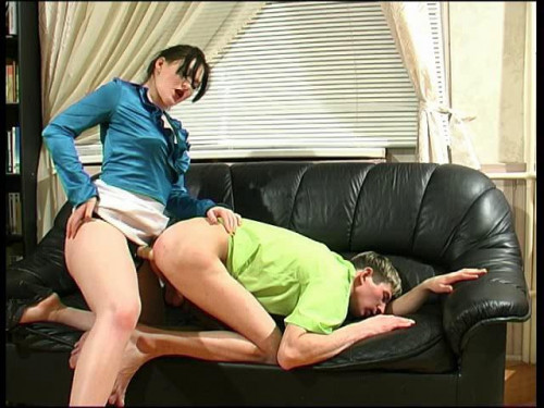 Femdom and Strapon The FemDom sex movies pack  LadiesFuckGents part 1