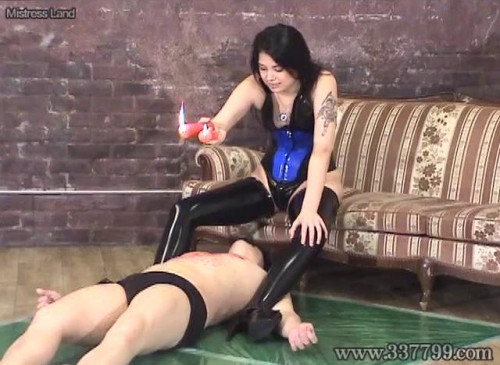 Femdom and Strapon Last chance of waste slave
