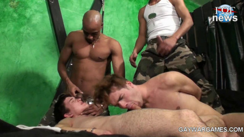 Gay BDSM Army Gay Games Best Part 5