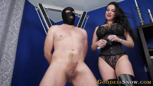 Femdom and Strapon Make Cum for Me
