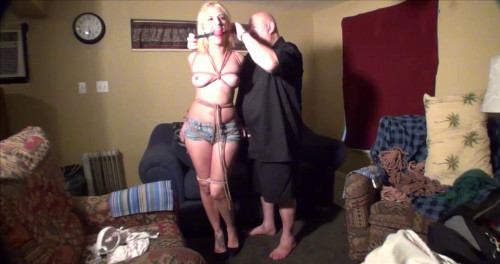 bdsm Brella Hogtied at Home Part One (2016)