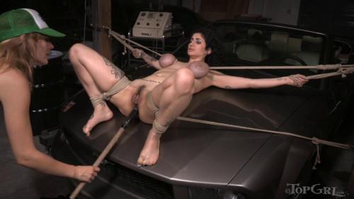 BDSM Stranded, Stripped & Serviced