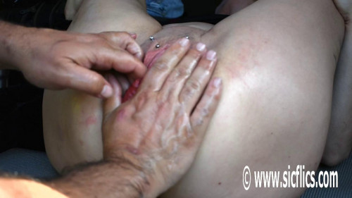 Fisting and Dildo Hart walks in on her and asks