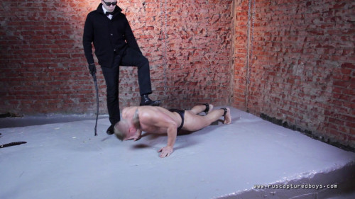 Gay BDSM Slave for Sale - Vasily - Final Part