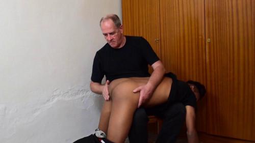 Gay BDSM OTK for Adrian