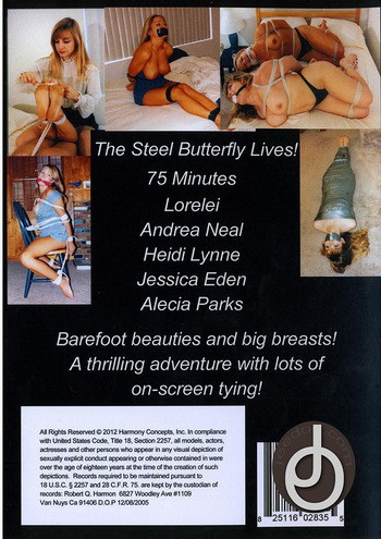 BDSM Harmony Concepts - BF-33 - The Steel Butterfly Lives!