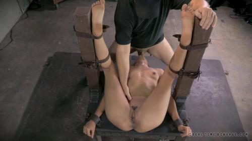 BDSM Stunning Lyla Storm belt bound