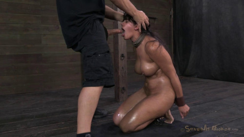 BDSM Bratty big breasted Penny Barber taken down a peg