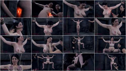 BDSM Hard bondage, spanking and torture for beautiful brunette part 3