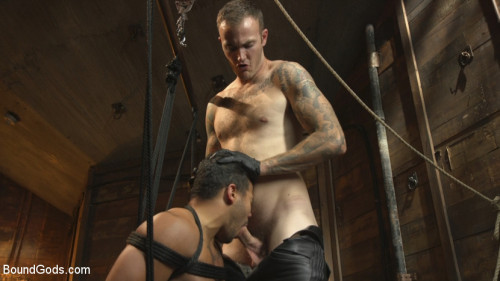 Gay BDSM Straight Boy Begs for Hard Torment