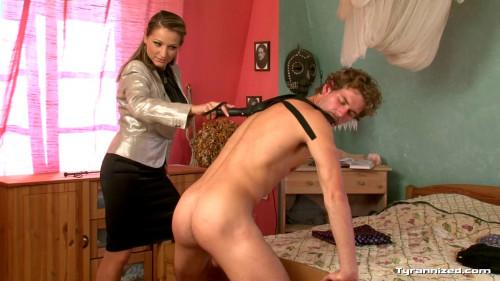 Femdom and Strapon Female Dominatrix - Full HD 1080p