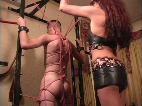 Femdom and Strapon Latex Rubber - Transformation Louvel - Domination HD