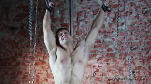 Gay BDSM RusCapturedBoys - The Training of Slave Zhenya - Part II