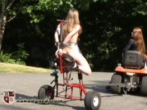 BDSM Charlotte Brooke Saddle Fucked