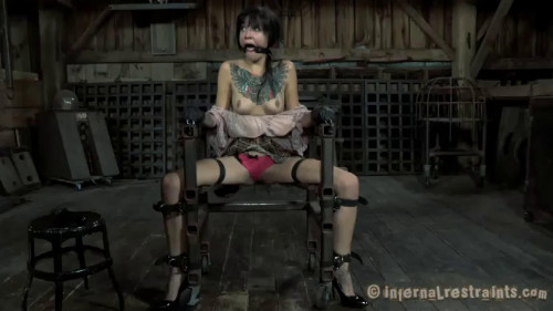 BDSM Tight bodnage, torture and domination for hot sexy slavegirl Full HD1080