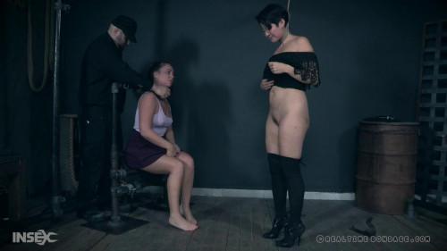 BDSM Slippery Slave Mia Punished Hard