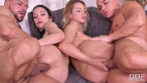 Cherry Kiss & Francys Belle - Sexy Sub'S DP Punishment - Part 2