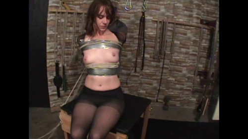 bdsm Tape and Rope Part Three