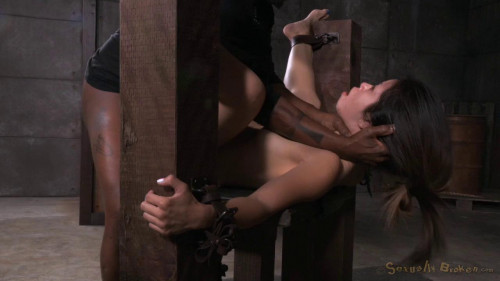 BDSM Asia Zo In Her 1st Bondage Shoot Gets Epic Deepthroat & Squirting Orgasms!