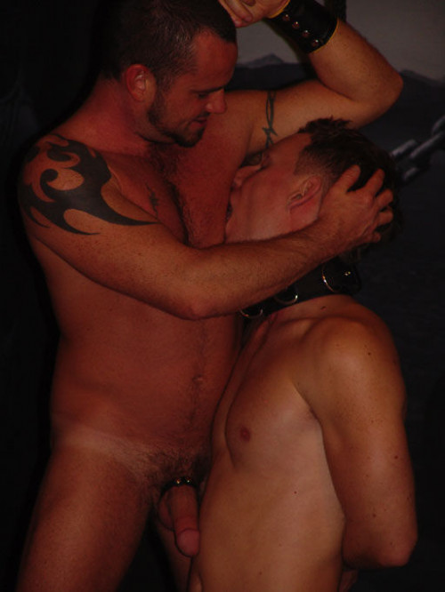 Gay BDSM Lick The Sweat