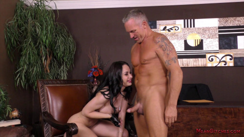 Femdom and Strapon Ass Worship From Crystal Rush