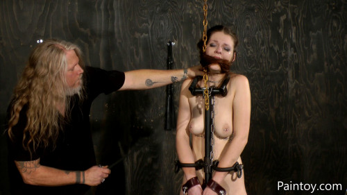 BDSM Paintoy with Nora Riley