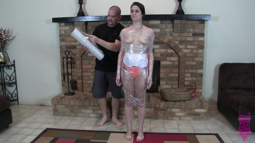 BDSM Addie Juniper Mummification Challenge