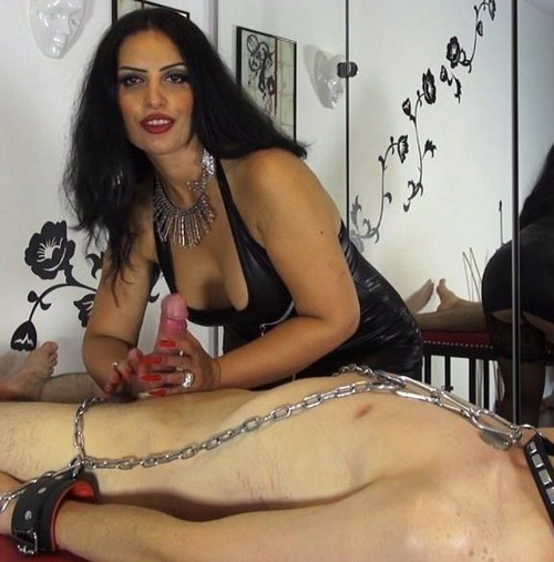 Femdom and Strapon Ruined For Mistress Ezadas Ass