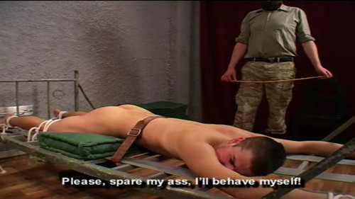 Gay BDSM Discipline4Boys - Entrance Exam 1