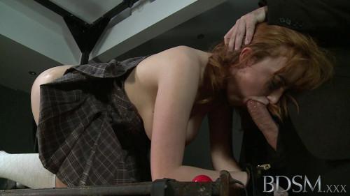 BDSM Tough Master Destroyes Young Slave