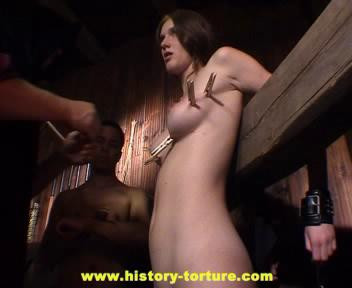 bdsm History of Torture - Punishment of a Virgin