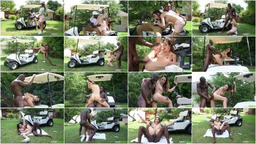 Interracial Francys Belle - Hole in 1: Gold Coach Uses his Big Black Driver to Make Francys Belle Squirt Hard