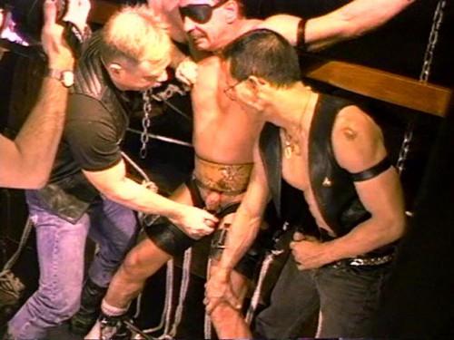 Gay BDSM Rough Torture Fuck