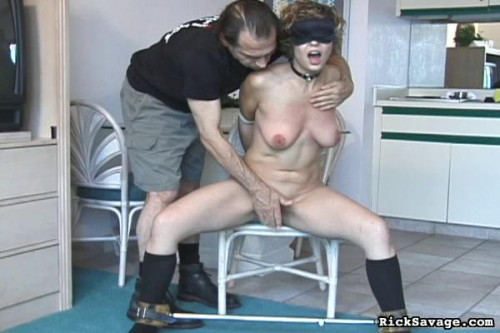 BDSM Balcony Bound Brooke
