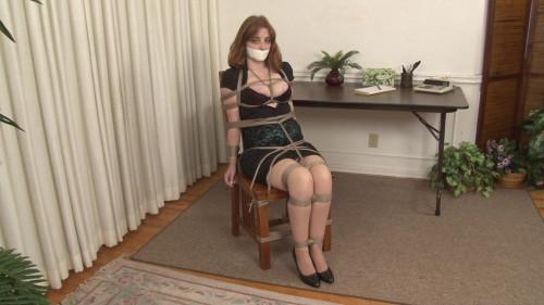BDSM Temp Secretary Office-Bound Ginger Sparks