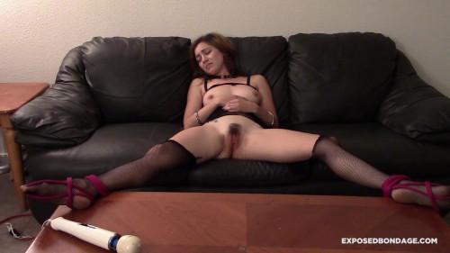 BDSM Exposedbondage - Paisley prince bond forced orgasm